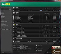 bet365 Sportsbook Live Results