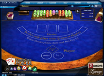 Gala Casino 3 Card Poker