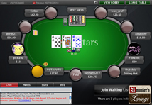 Poker Stars 9 Person Texas Hold em